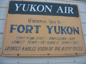 Conditions in Fort Yukon