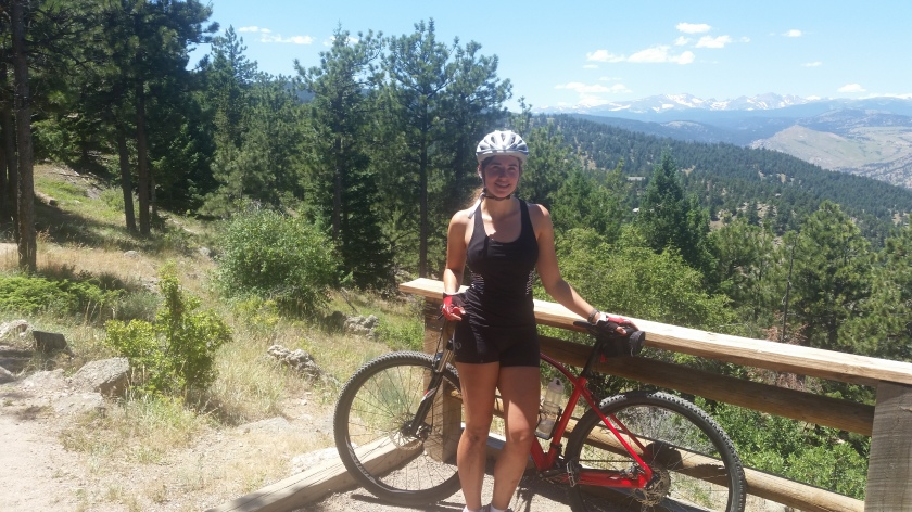 Biking Flagstaff Pic